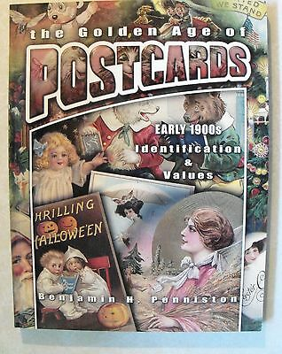 The Golden Age of Postcards Early 1900s Identification & Values Collector Book