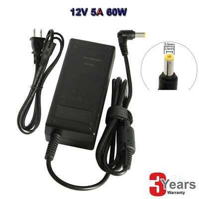 110V-220V AC to DC 12V 5A(5000Am) Adapter,60W Switching Charger Power Supply