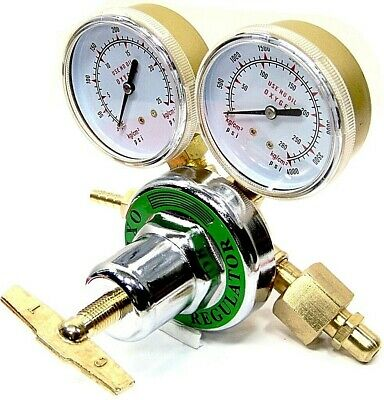Oxygen Gas Welding Regulator Pressure Gauge Victor Type Solid Brass CGA 540
