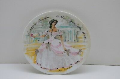 Vintage French Collector Plate