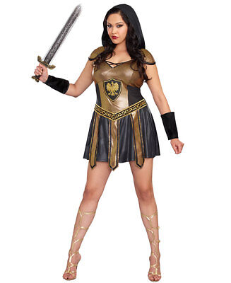 New Dreamgirl 10273X Plus Size Deadly Warrior Sexy Costume