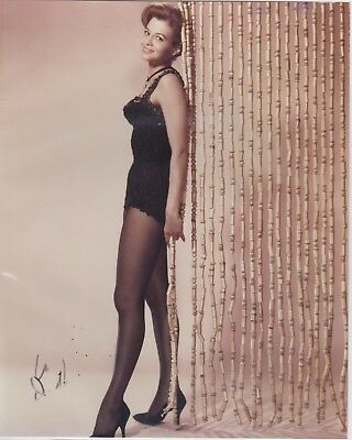 Beautiful and Sexy Angie Dickinson Vintage Autographed 8 x 10 Photograph W/ COA