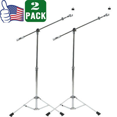 2pack 800 Series Boom Cymbal Boom Stand Light-weighted Double Braced Legs NEW
