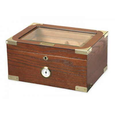 British Campaign Lord Nelson 100-ct Humidor Beveled