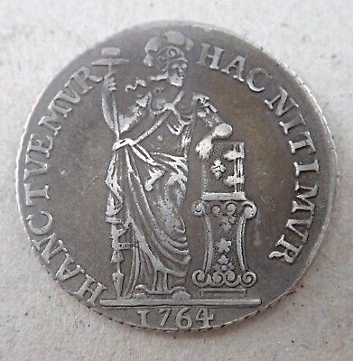 Netherlands 1764 Gulden   - Proclamation Coin