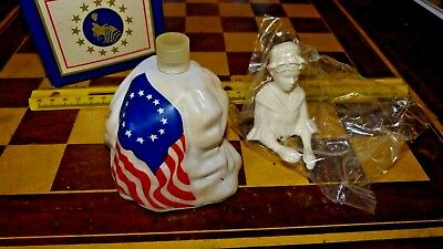 VINTAGE AVON 1976 BETSY ROSS FIGURINE 4oz SONNET COLOGNE Free Shipping