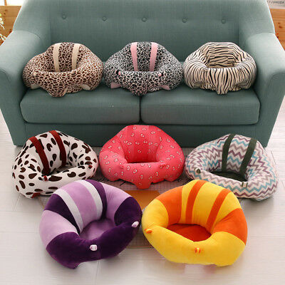 Home Trendy Learn Chair Baby Seat Sit Safety Seat Soft Sofa Plush  Pillow Decor