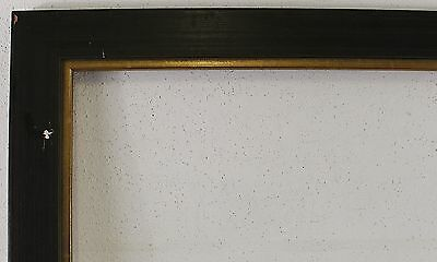 Wood Frame Black Inside Dimension approx. 19 11/16x24 5/8in