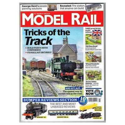 Model Rail Magazine March 2015 Mbox2904/A  Tricks of the Track - Hornby 'K1'