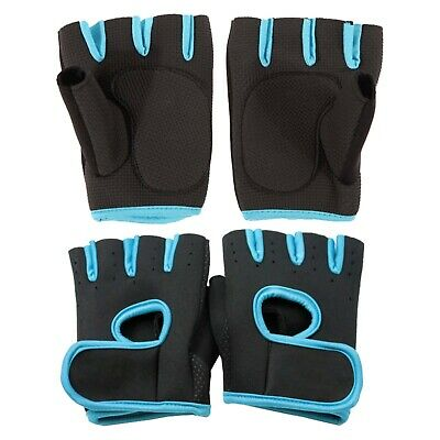 Unisex Versatile Gloves Fitness Gym Lifting Training Weights Fingerless 0736