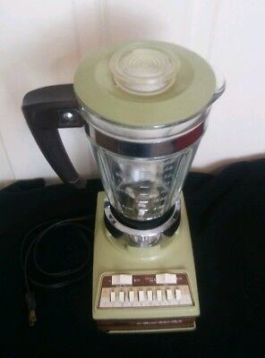 SUNBEAM SOLID STATE 16 SPEED BLENDER-AVOCODO GREEN BL-2 32 oz 4 Cup