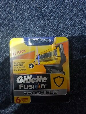 Gillette Fusion Proshield 6 Blades pack