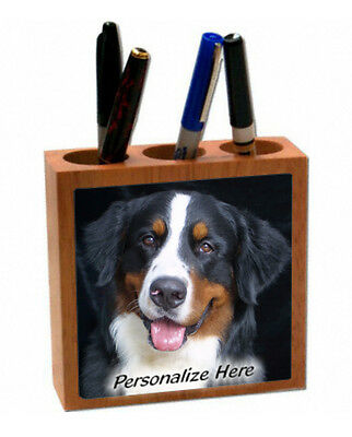 Bernese  Mountain  Dog   Personalized  Pencil and Pen Holder