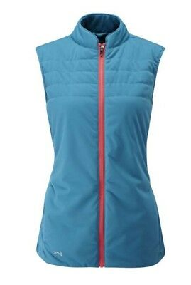 Ladies Ping 2017 Oslo Insulated Golf Vest. Full Zip. Various Sizes. New *sale!*
