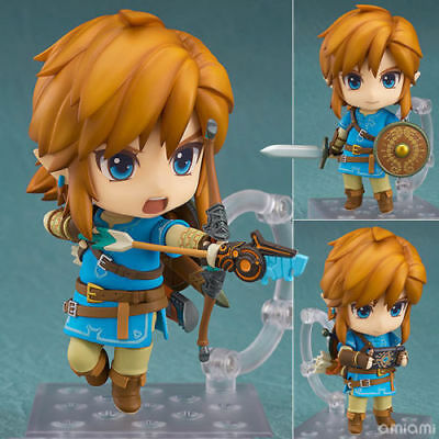 Anime The Legend of Zelda Link Breath Of The Wild PVC Figure Toy Nendoroid 733