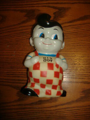 "8"" Marcs big boy bank with out stopper vintage restaurant memorobilia"