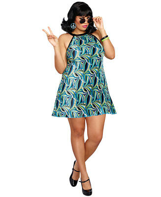 New Dreamgirl 10707X Plus Size The Beat Goes On Costume