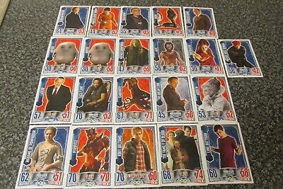 doctor who attack cards job lot,used in great condition
