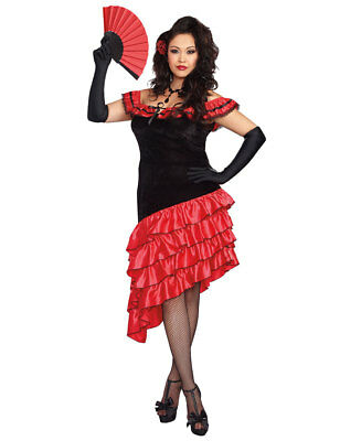 New Dreamgirl 10311X Plus Size Spanish Dancer Costume