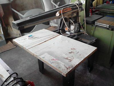 Maggi Big 800 Radial Arm Saw Woodworking Carpentery Circular Blade Bandsaw