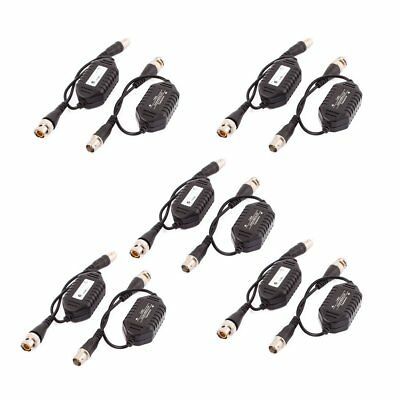 uxcell 10 Pcs Coaxial Video Ground Loop Isolator Balun BNC Male to Female for