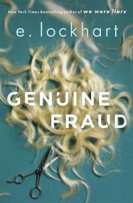 NEW Genuine Fraud By E. Lockhart Hardcover Free Shipping