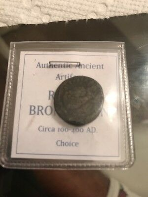 Authentic Ancient Artifact Roman Bronze Coin