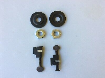"CRAFTSMAN 10"" Radial Saw (2) Blade Nuts (2) Washers And (2) Brackets"