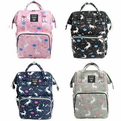 Lequeen Mummy Maternity Nappy Diaper Large Capacity Baby Bag Travel Backpack US