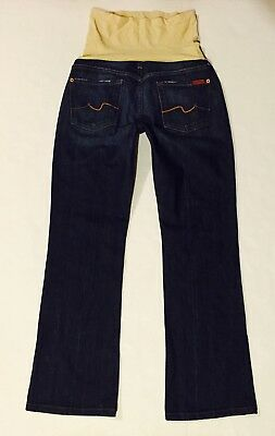 7 For All Mankind A Pea In The Pod Maternity Bootcut Jeans Size 29 X 30 NICE!!☘️