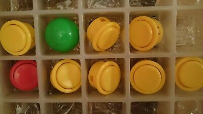 8 x 30mm push buttons & sanwa ball top - Arcade Stick - Arcadestick - JAMMA