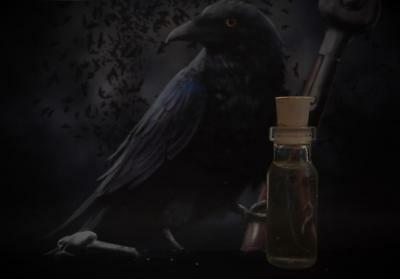 CROW Spirit Guide Totem Animal Ritual Oil Anointing Oil   Wicca Witchcraft Pagan