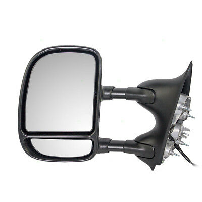 Ford Super Duty Pickup Truck Excursion Drivers Telescopic Tow Side Power Mirror