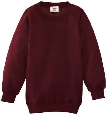 (TG. C40 IN- UK) Charles Kirk Coolflow - Felpa, colletto tondo, , unisex, Rosso