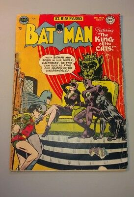Batman #69 1952 Catwoman on cover