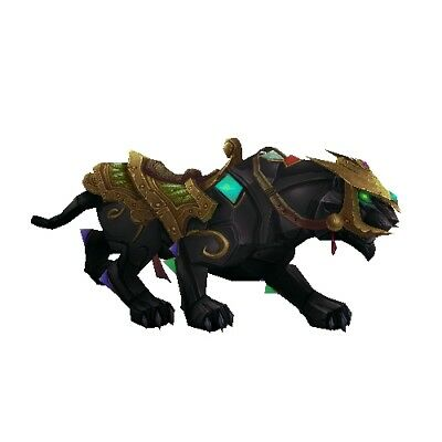 Jeweled Onyx Panther ✯ WoW Mount ✯ All EURO Realms