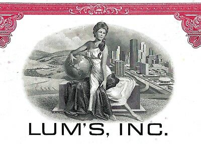 LUM´S Inc., Florida, 1970 (300 Shares)