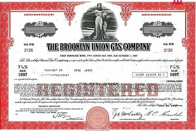 The Brooklyn Union Gas Company, 7 7/8% First Mortgage Bond due 1997 (100.000 $)