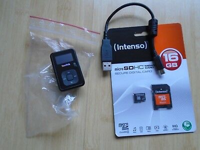Sandisk Sansa Clip+ Plus Mp3 Music Player Digitalplayer 8 Gb