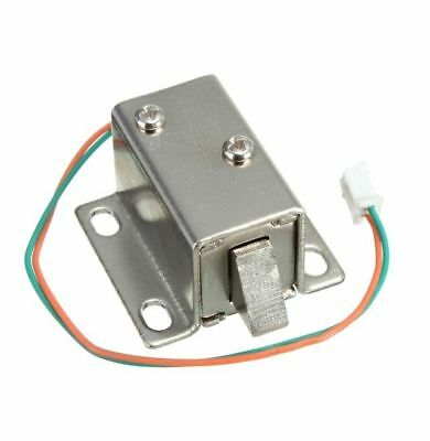 DC 12V Electric Solenoid Lock Tongue Upward Assembly for Door Cabinet Drawer UK