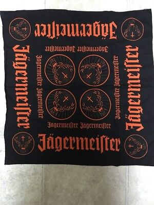 Jagermeister Cotton Bandana - New 24 x 24