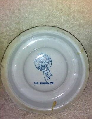 Blue Ribbon Brand Stoneware Poultry Fount by Buckeye Pottery of Macomb, Illinois