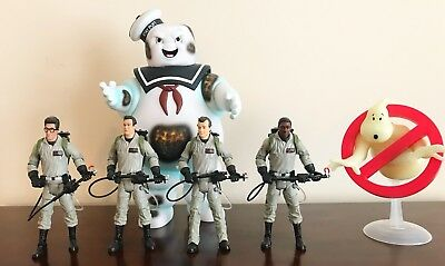 Mattel Ghostbusters Action figure Lot Loose Figures & Angry Burnt Stay Puft Man