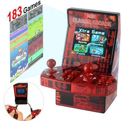 Upgraded Mini Arcade Game Machine Retro Handheld Console Portable for Kids Adult