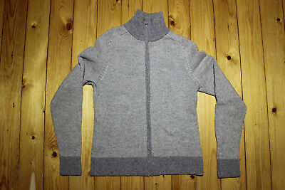 Lundhags 100% Wolle Damen Bluse Jacke Gr S Funktionsshirt Pillover warm