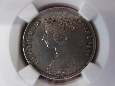 1849 Great Britain Queen Victoria Florin Silver 2 Shilling NGC XF45