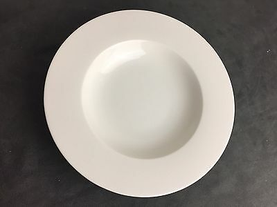Villeroy & Boch Simple White Soup Pasta Cereal Plate Bowl Fine Porcelain China