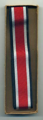 WWII Original (EKII) Iron Cross Ribbon From Nazi Germany 1939, Real  WW2 Issue