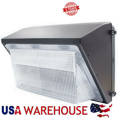 70W 125W LED Wall Pack Heavy Duty Wall Mounted Fixture Equivalent 400W - 1000W
