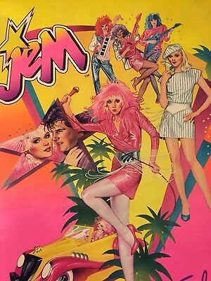 Jem and the Holograms Vintage Hasbro Official Poster
